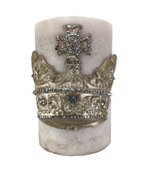 Triple_scented_candle-vanilla-6x9-champagne_jeweled_crown-sir_olivers-reilly_chance_collection_grande