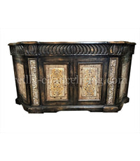 Peruvian Home Furnishings Valencia Hand Painted Wood Buffet as shown  FREE SHIPPING