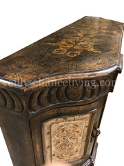 Valencia_Peruvian_buffet-Peruvian_Home_furnishings-Handpainted_vasco_Buffets--bonita_furniture-Hacienda_style_furniture-italian_renaissance_furniture-Old_world_buffet_cabinet-reilly_chance