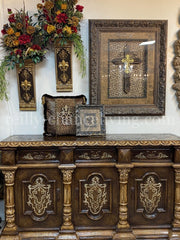 Peruvian Home Furnishings Kensington Hand Painted Wood Buffet FREE SHIPPING