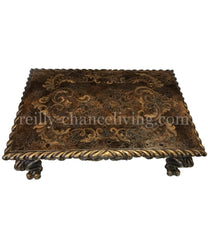 Peruvian Home Furnishings Venice Hand Painted Wood Coffee Table FREE SHIPPING