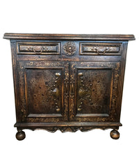 Peruvian Home Furnishings Vicenza Hand Painted Wood Buffet Side Chest FREE SHIPPING
