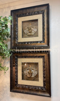 Visser Art Framed Crowns