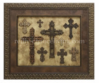 Visser Art Framed Cross Collage
