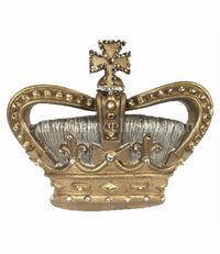 Jeweled Wall Crown Gold/Silver Celeste 8.5