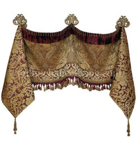 Decorative Valance and Jabots (Available in any of our Fabrics)