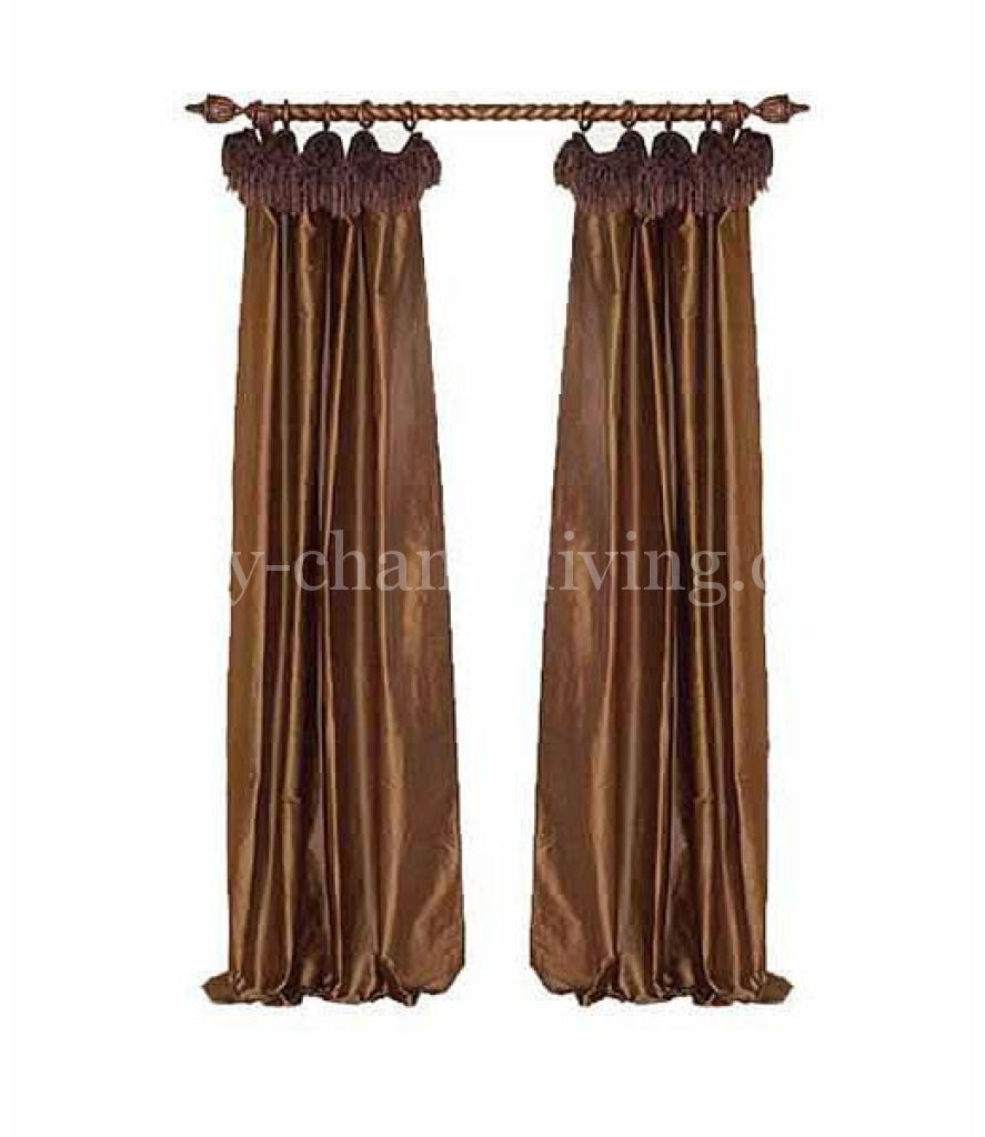 Style #6 Curtain Panel Window Treatment