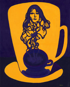 Fine Art Print - Black Coffee III