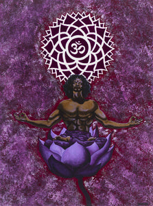 Giclee - Flowering of the Cosmic Consciousness