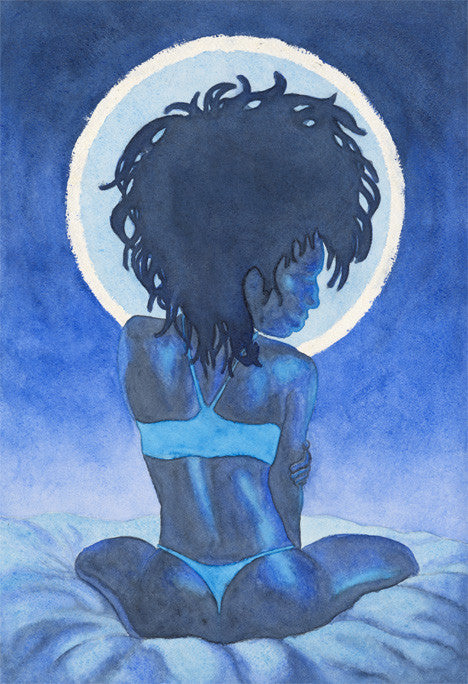 Fine Art Print - Moonlight Blues