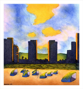 Fine Art Print - Towers