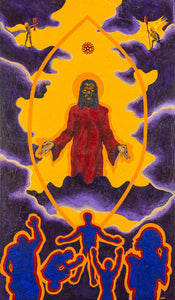 Giclee - Ascension I: The Son of Man Ascends