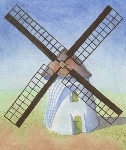 Fine Art Print - Cape Town Windmill