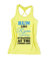 Run like Ryan gosling is watching Women's Running Tank Top -X 551