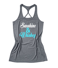 sunshine and whiskey Women's Fitness Tank Top -X 567