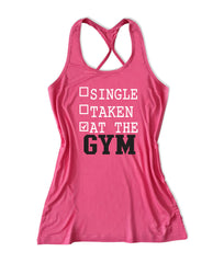 Single taken at the gym Women's Fitness Tank Top -X 656