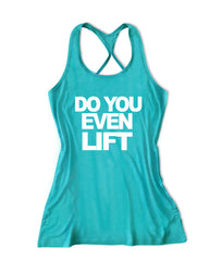 Do you even lift Women's Lift Crossfit Tank Top -X 669