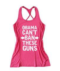 Obama can't ban these guns Women's Fitness Tank Top -X 731