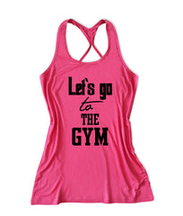 Let's go to the gym Women's Fitness Tank Top -X 950
