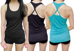 I feel prettiest when I sweat Women's  Fitness Tank Top -X 1030