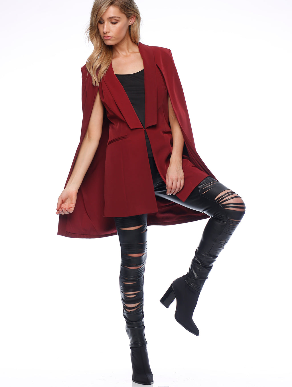 Dara Cape Coat