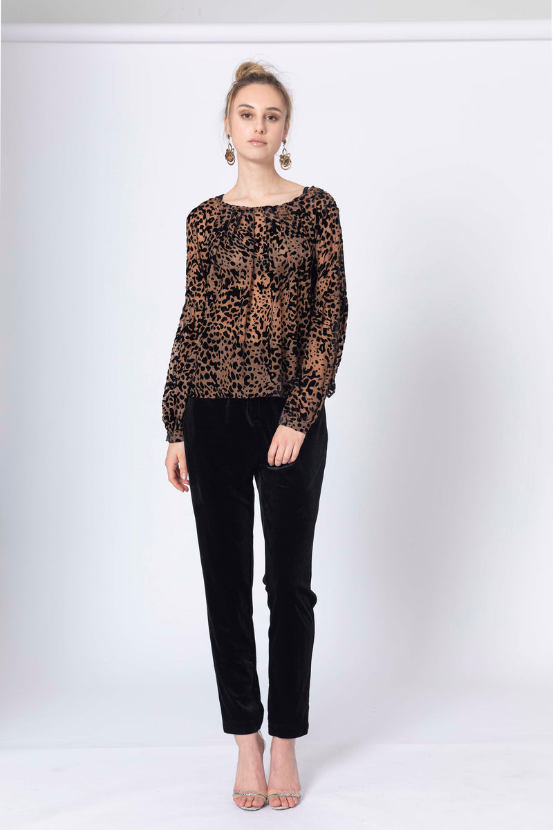 Instincts Blouse with slip