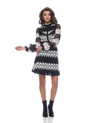 Harlee Balloon Sleeve Dress