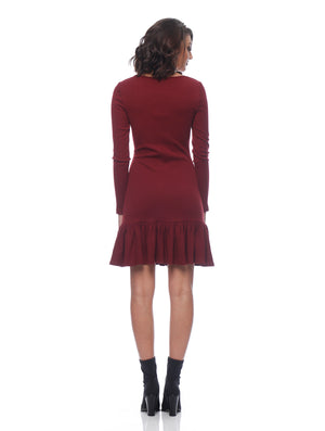 Teagan Long Sleeve Dress