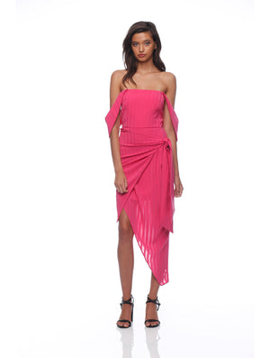 Ruby Drape Dress