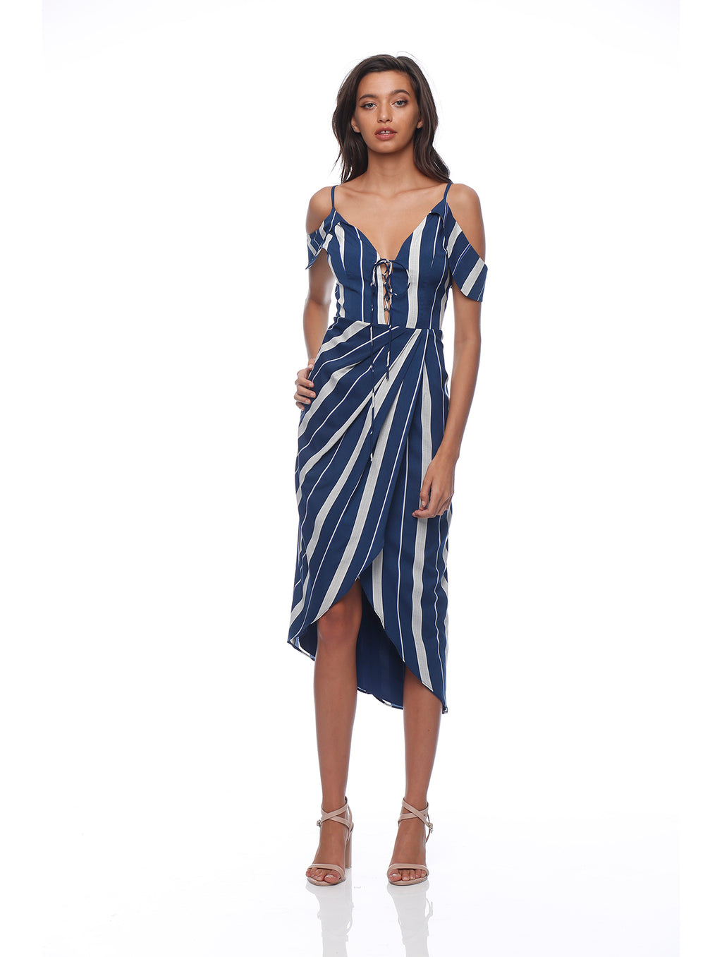 Hailey Drape Dress