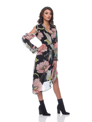 Emily Asymmetric Dress