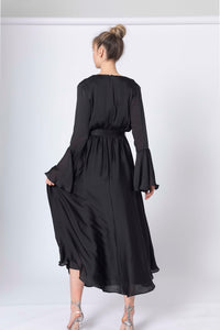 Midnight Wonderer Midi Dress
