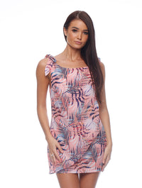 Palm Drape Dress