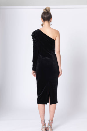 Dark Love One Shouylder Dress