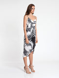 Palms Drape Dress