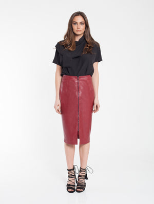 Twiggy Zip Skirt