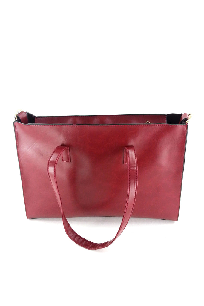 Simple Big Pockets handbag