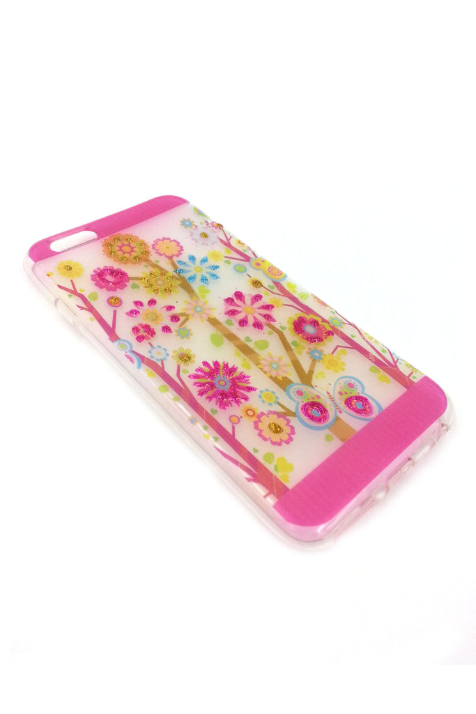 iPhone 5 case 3 D Flowers