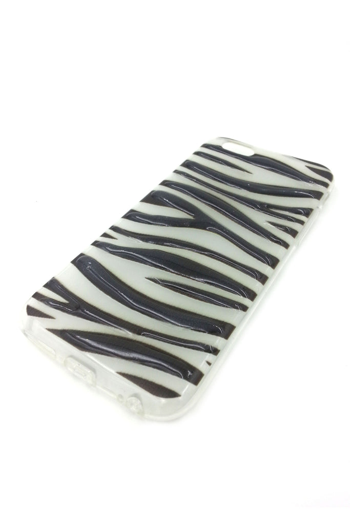iPhone 6 case 3D Zebra