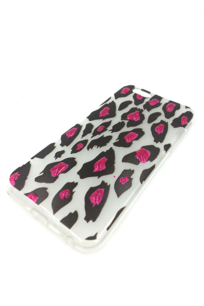 iPhone 6 case 3 D Leopard Print