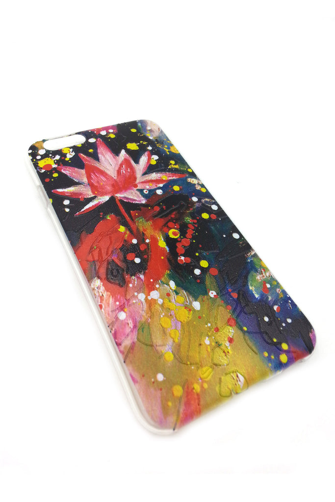 Lotus in the Universe iPhone 6 case