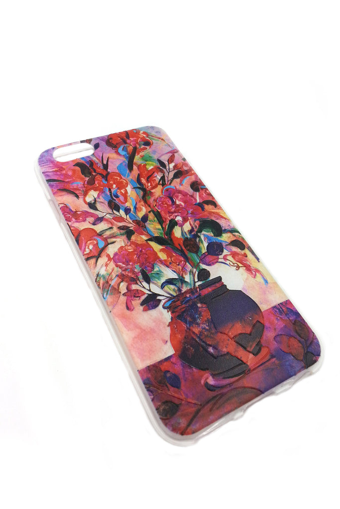Pink Flowers iPhone 6 case