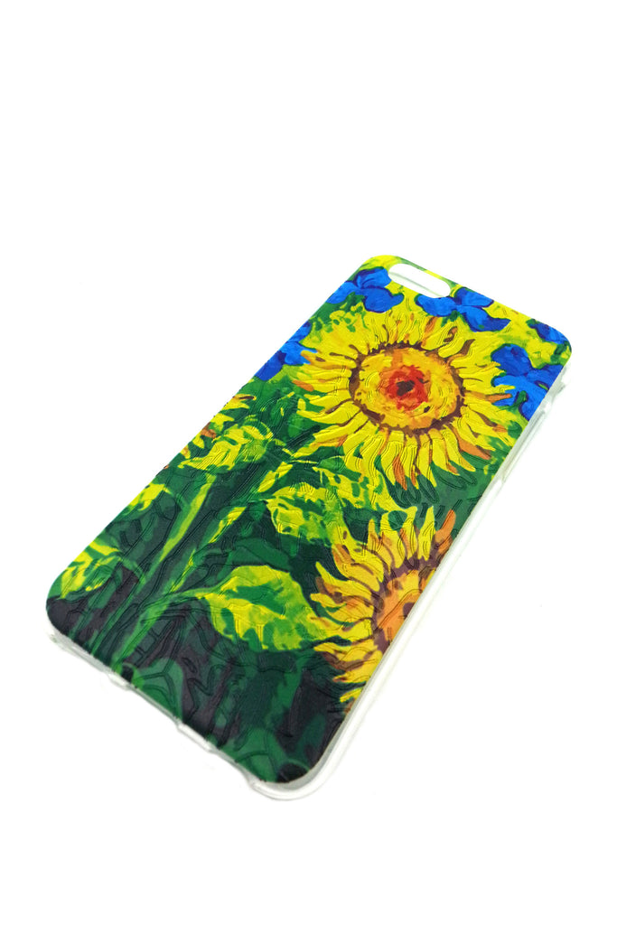 Big Sun Flowers iPhone 6 case