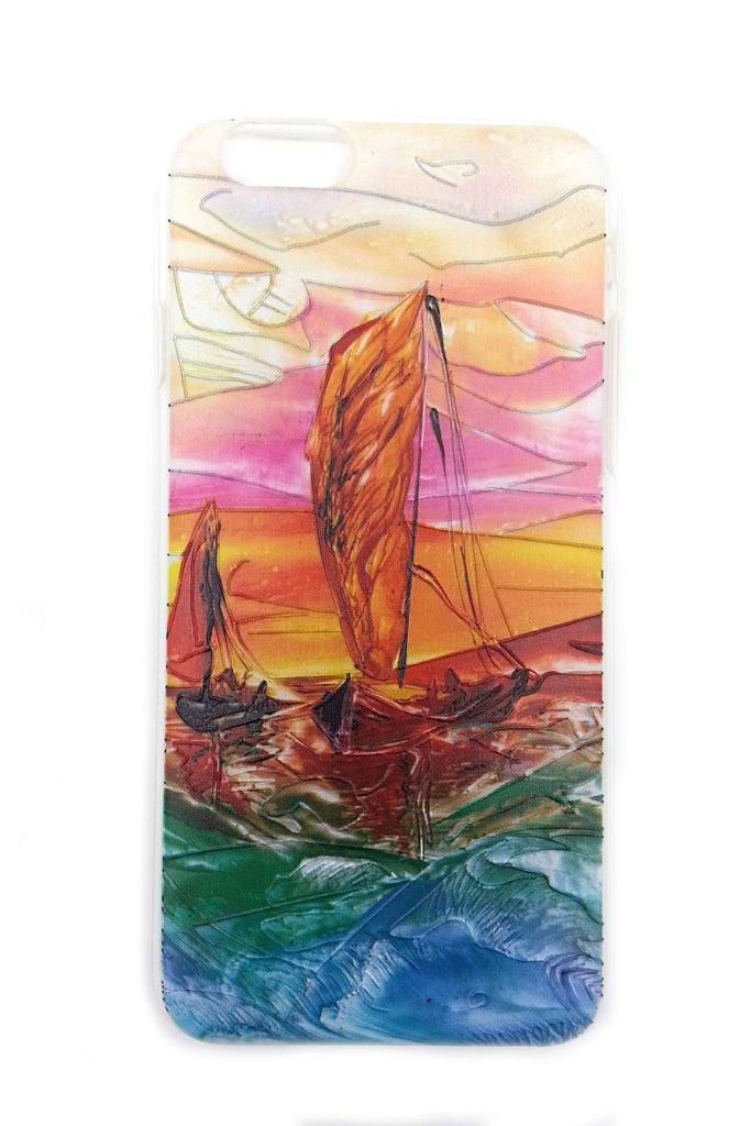 Sail Boat on the Sea iPhone 6 case