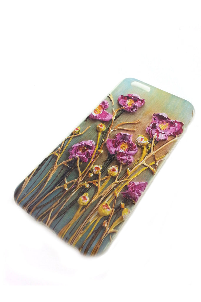 Purple Flowers iPhone 6 case