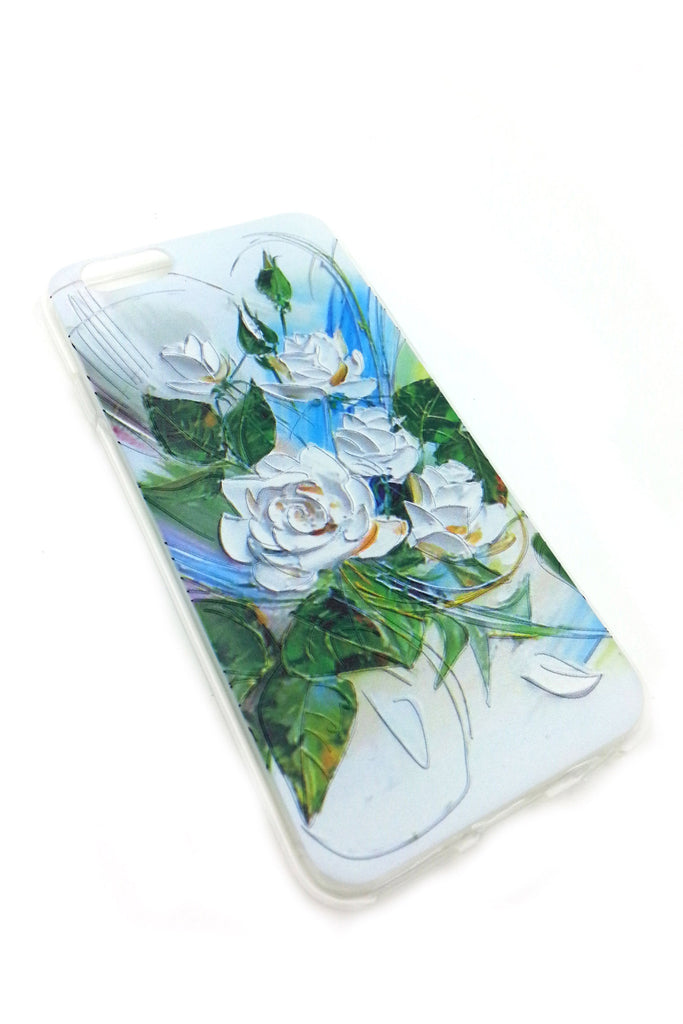 White Roses iPhone 6 case
