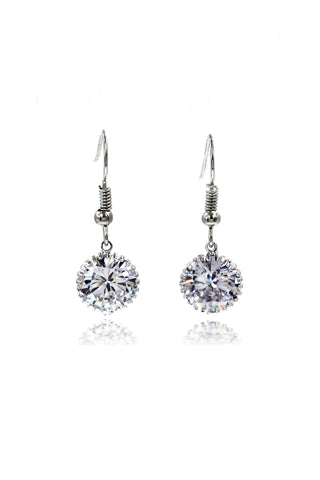 fashion tassel crystal earrings