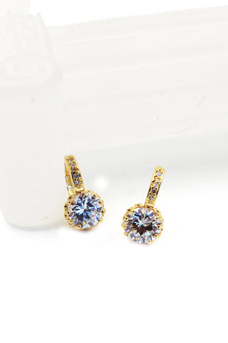 lovely cute star Crystal Earrings