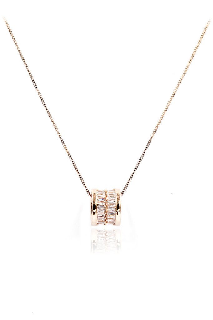 fashion shiny crystal clavicle necklace