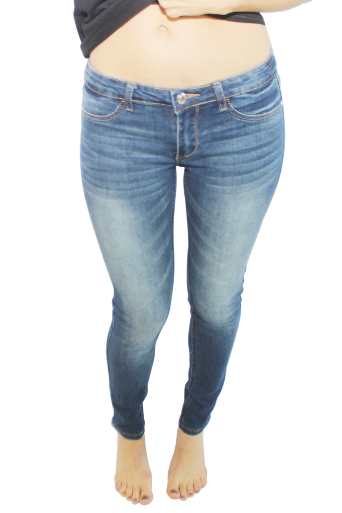 basic blue vintage denim